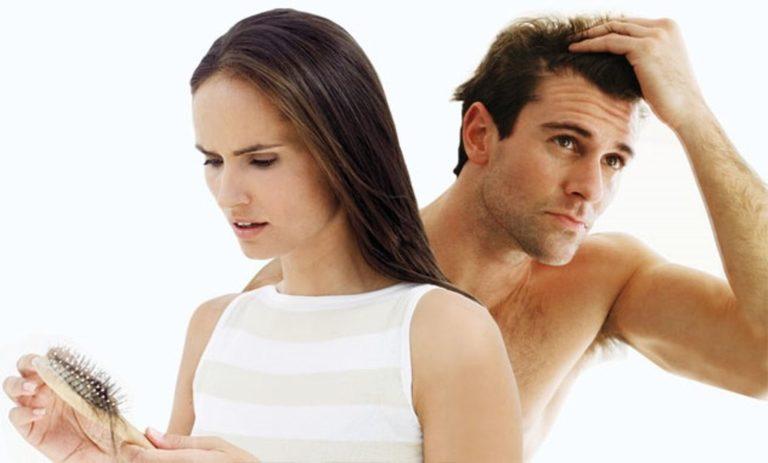 Решение при облысении у мужчин и женщин